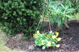 """Опора для вьющихся растений """"Пирамида малая"""""""